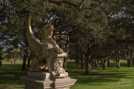 Statue in Centennial Park