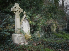 Headstones in Abney Park Cemetery 12/19/2015