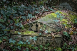Tomb in Abney Park Cemetery 12/19/2015
