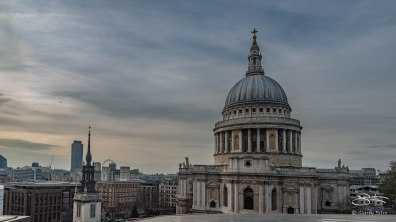 London Skyline - St Paul's 12/19/2015