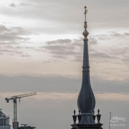 London Skyline - Spire 12/19/2015