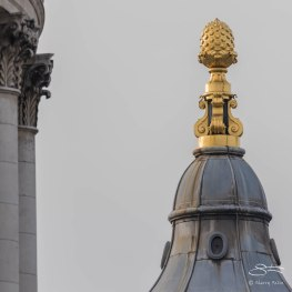 London Skyline - SE Tower of St Paul's 12/19/2015