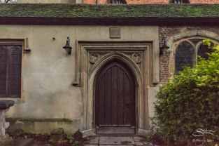 St Mary's Old Chirch door, Stoke Newington