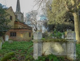 St Mary's Old Church, Stoke Newington 12/29/2015