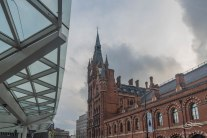 Pancras Interneational Station, 1/5/2016