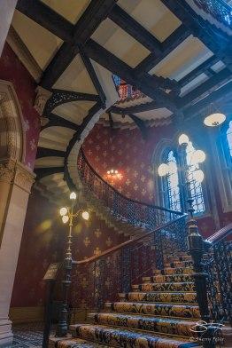 Main Stairs, St Pancras Renaissance Hotel 1/5/2016