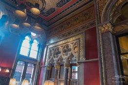 Gilbert Scott Bar, St Pancras Renaissance Hotel 1/5/2016