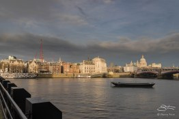 Blackfriers Bridge and St Paul's 12/19/2015