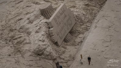 Sand sculpure, thames 12/19/2015