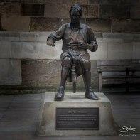 Cordweiners statue, London 12/19/2015