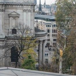 St Paul's Statue, London 12/19/2015
