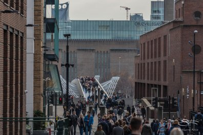 Millenium Bridge, London 12/19/2015