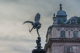 Eros, Trafalger Sqaure, London 12/28/2015