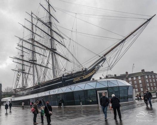 Cutty Sark, Greenwich 1/2/2016