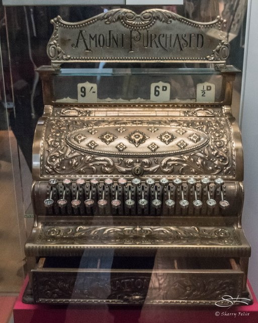 Cash register, British Museum 1/6/2016