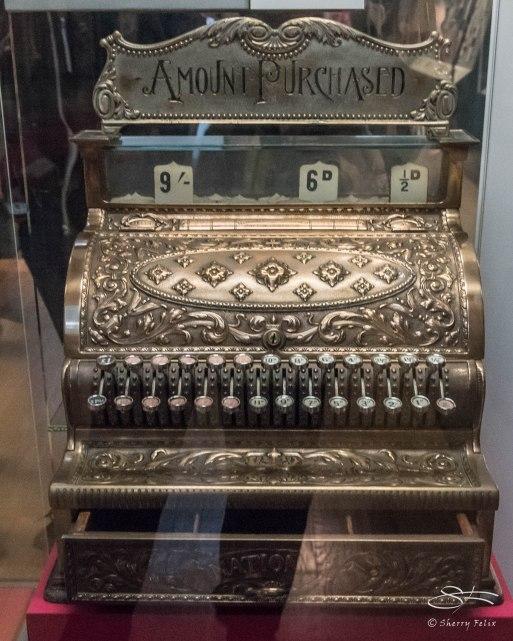 Cash register, British Museum 1/6/2016