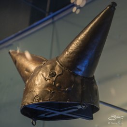 Waterloo Bridge helmet, Museum of London 1/7/2016