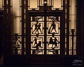 Art deco door, Museum of London 1/7/2016