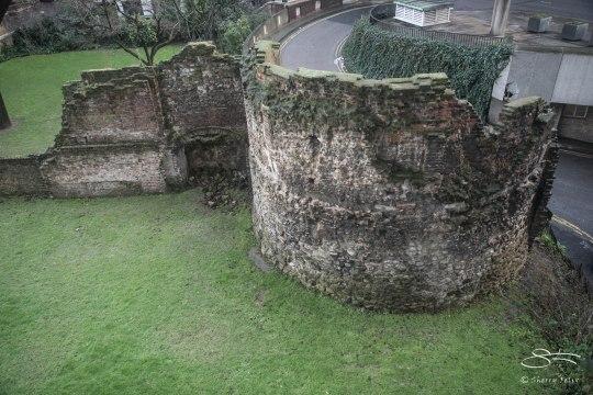 London Wall (Roman) 1/7/2016