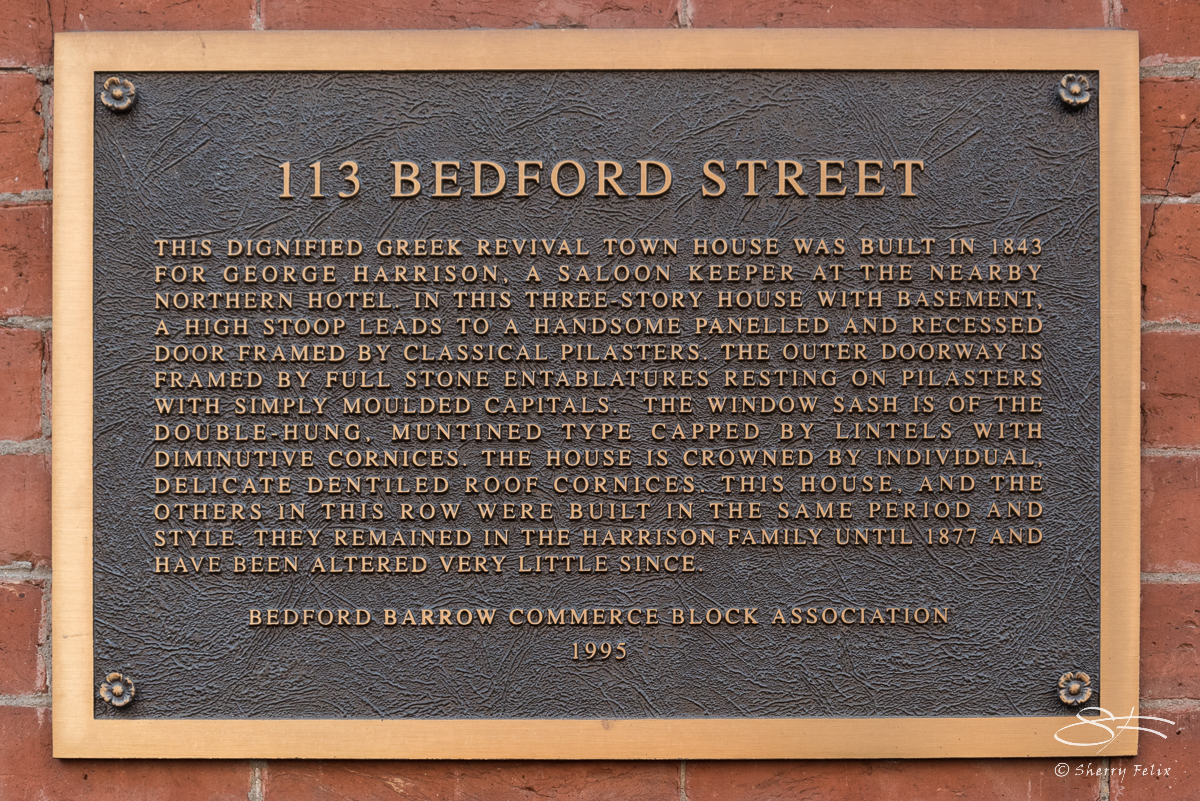 113 Bedford Street, NYC 3/5/2016