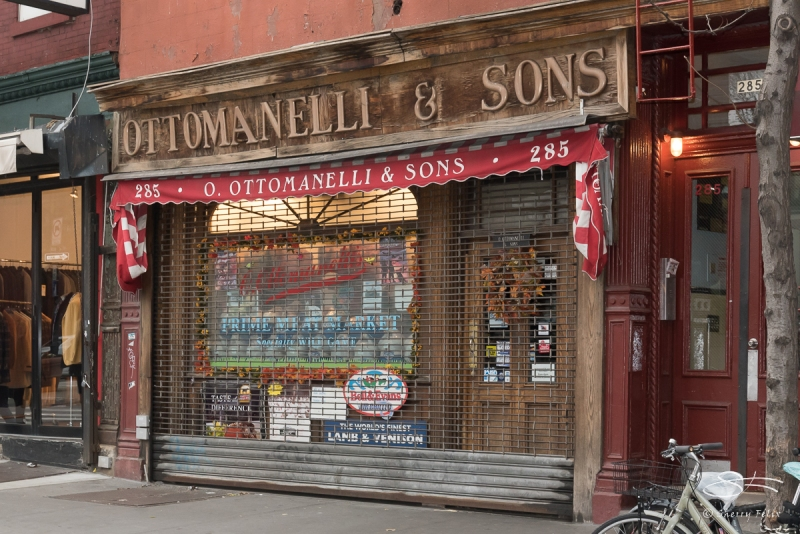 Ottomanelli ;amp; Sons, 285 Bleecker St. 11/22/2015