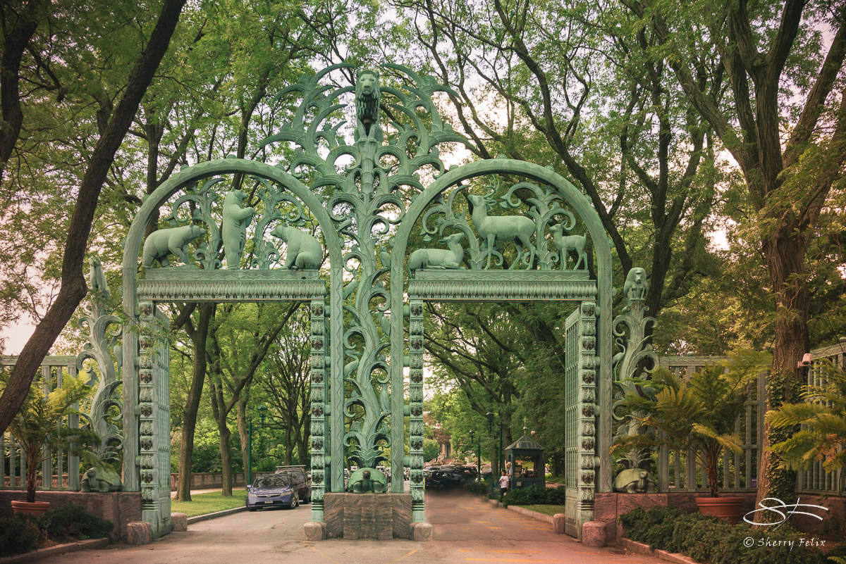 Fordham Road Gate, Bronx Zoo 7/11/2016