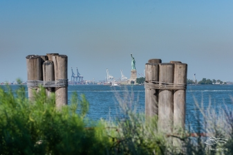 Staue of Liberty, Battery Park 7/23/2016
