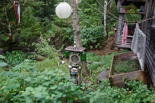 Friend's garden near Solon, Maine 9/5/2014