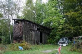 Friend's barn near Solon, Maine 9/5/2014