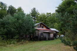 Friend's studio near Solon, Maine 9/5/2014