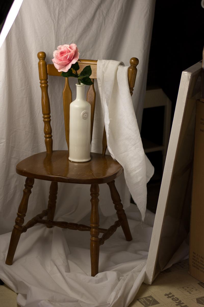 Rose Still Life by Julie Powell