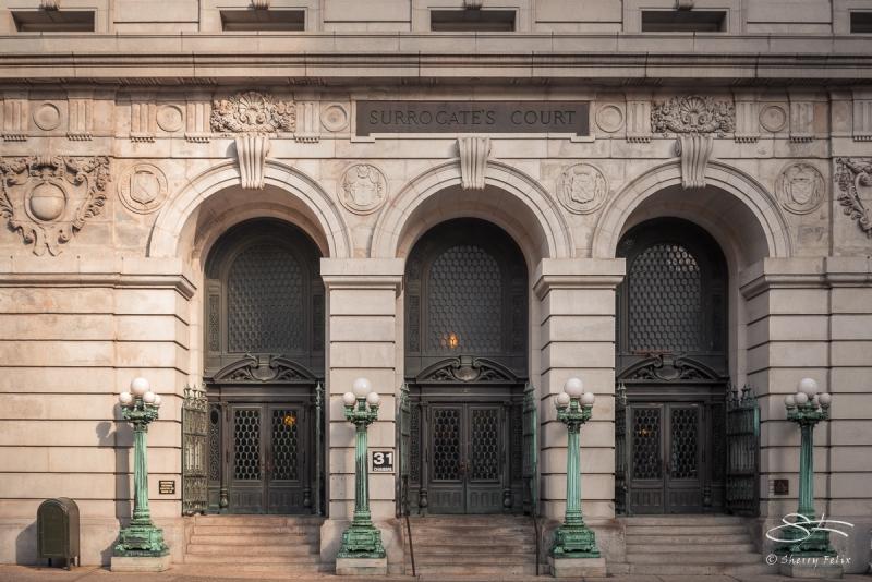 Surrogate's Court & Mumicipal Archives, Chambers Street 11/26/2016