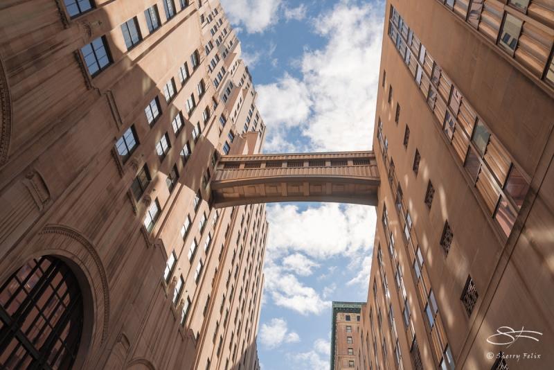 Elevated Walkway between 11 Madison and Met Life 2/26/2017