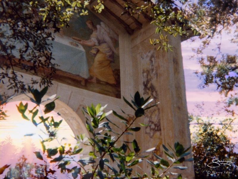 A ruin near Sienna, Italy 5/7/1986