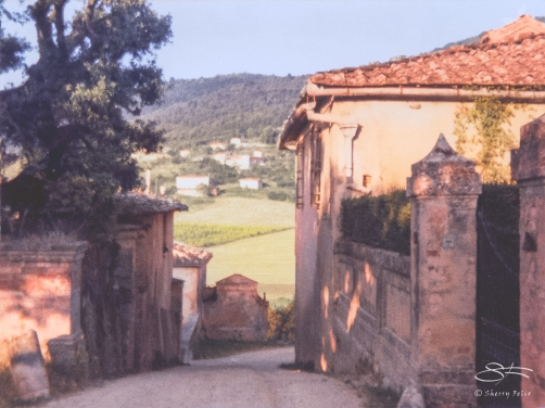 Near Sienna, Italy July 1986