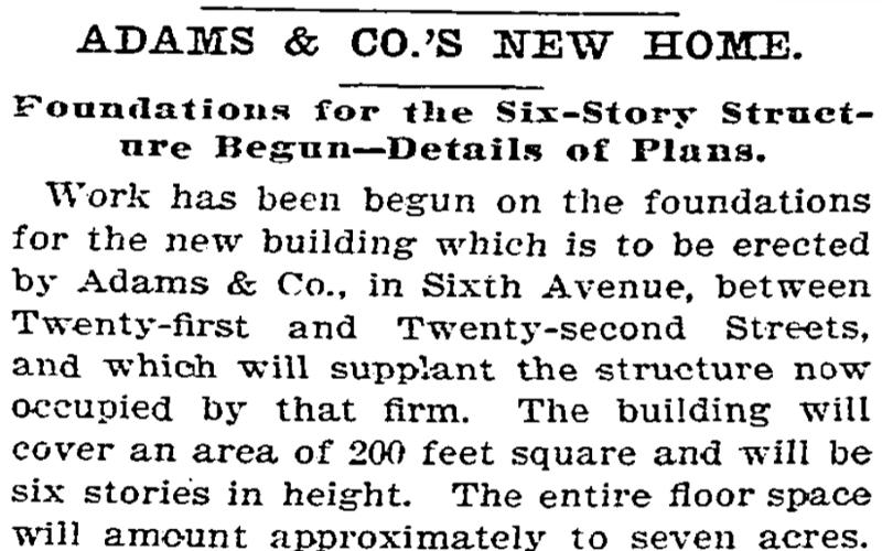 ADG, NY Times Dec. 23, 1889
