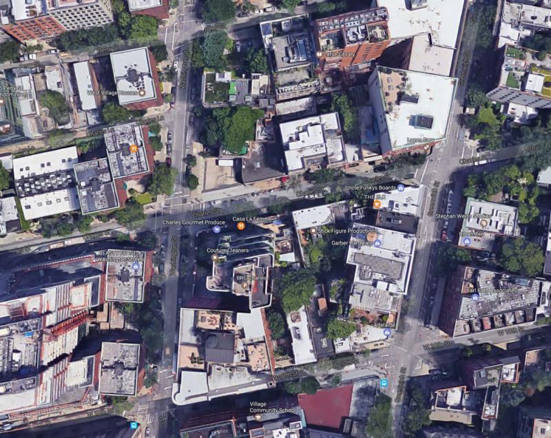 Charles St Google Map
