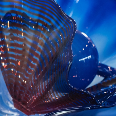 Byzantine Blue Persion, 2017 Dale Chihuly $7,600