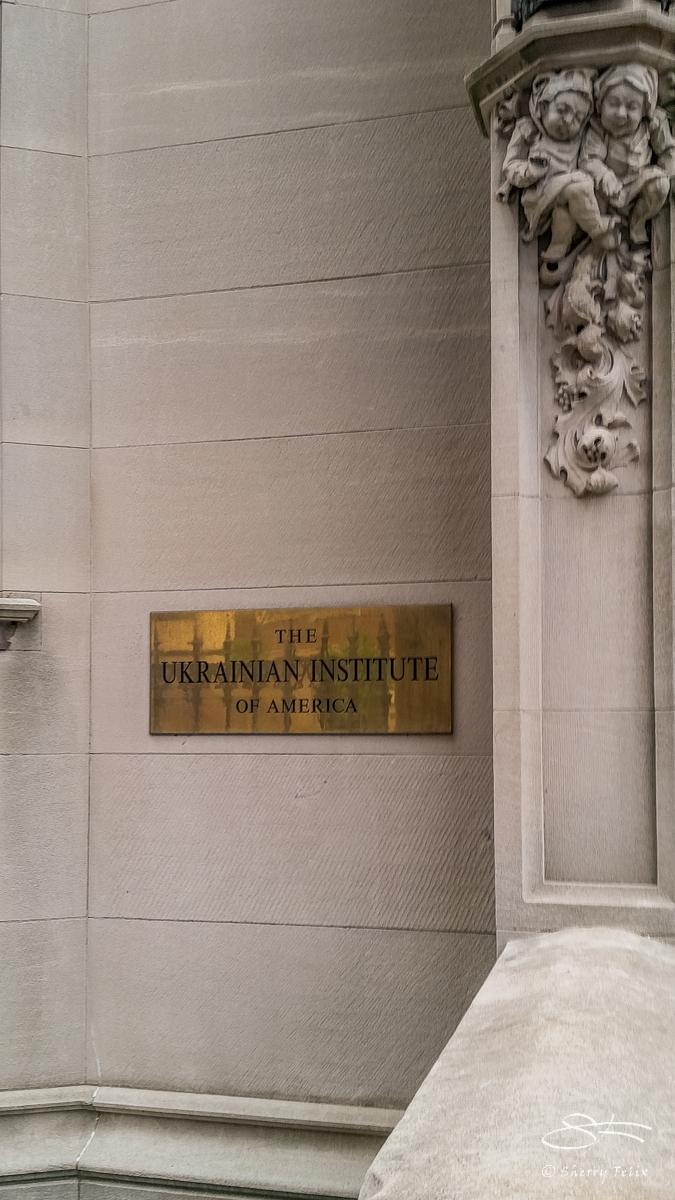 Ukranian Institute 5/7/2017