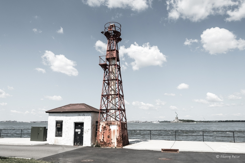 Lighthouse, Governors Island, NY 6/28/2017