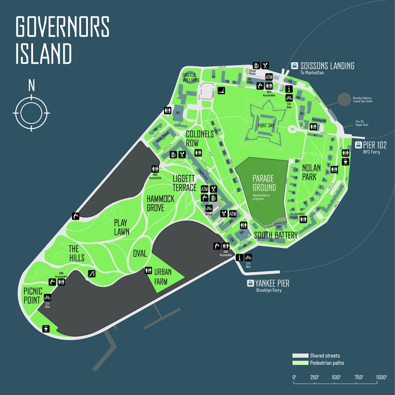 Gov Island map 2017