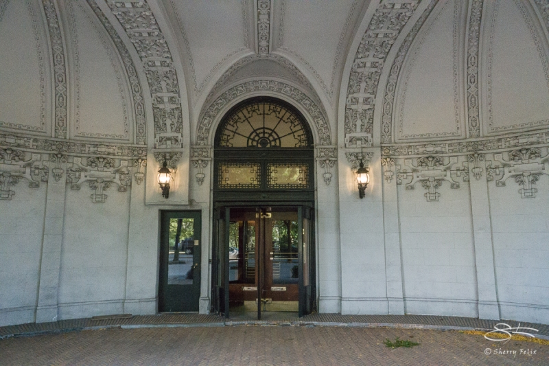 Riverside Drive doors, 10/30/2017