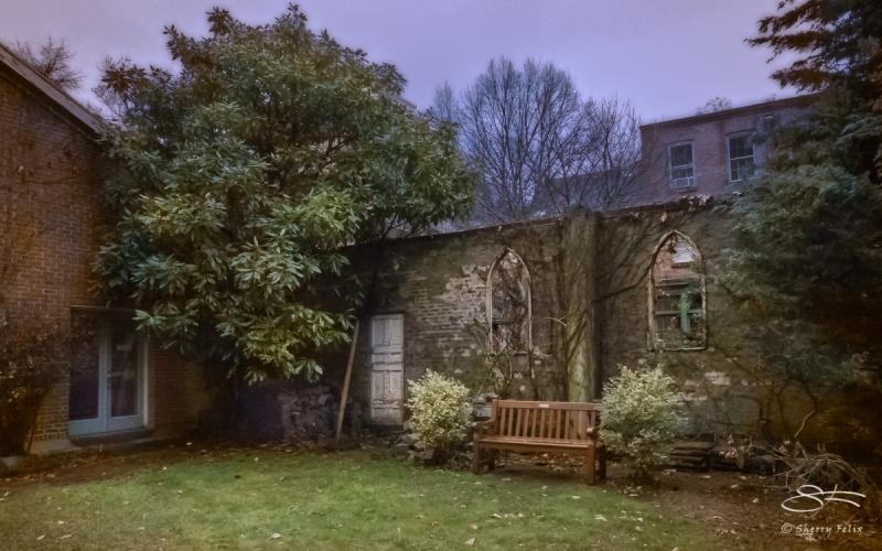 St Luke's Garden 12/23/2017