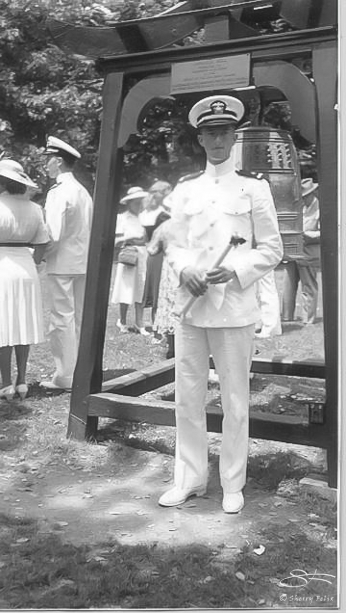 194005 Ted Hechler post graduation at Annapolis 2