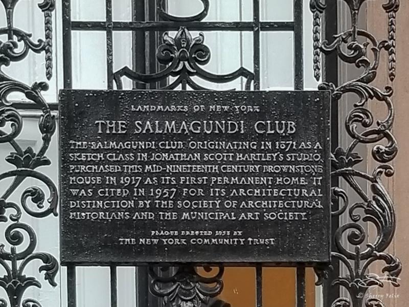 Salmagundi Club 9/10/2018