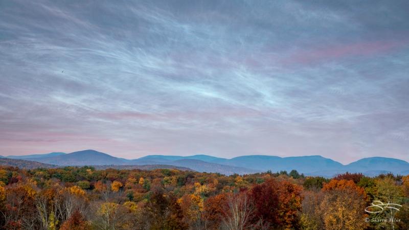 Catskills scenic overlook, NY 10/25/2020