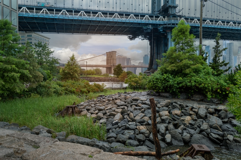 Manhattan Bridge, Brooklyn Bridge Park 8/19/2020